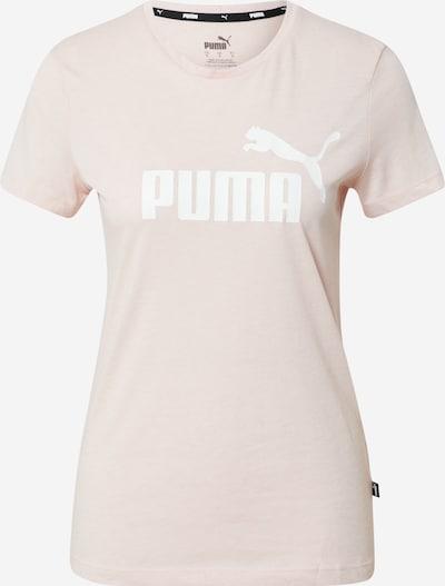 PUMA T-shirt fonctionnel en rose / blanc, Vue avec produit