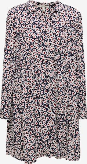 ESPRIT Kleid in navy / rot / weiß, Produktansicht