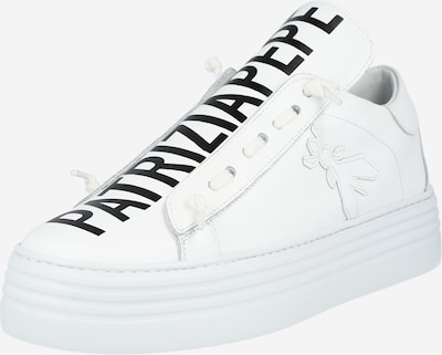 PATRIZIA PEPE Slip on 'SCARPE' en noir / blanc, Vue avec produit