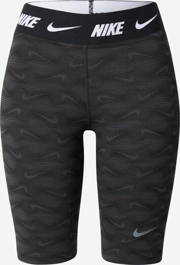 Pantaloni sport NIKE pe gri grafit / alb, Vizualizare produs