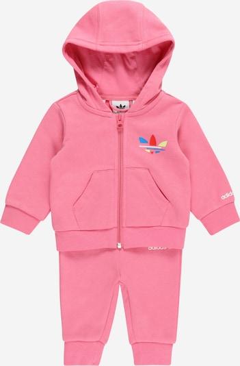 ADIDAS ORIGINALS Jogginganzug in mischfarben / pink / weiß, Produktansicht