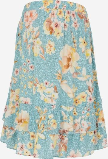 MAMALICIOUS Sukně 'Vaiana' - tělová / kouřově modrá / světle žlutá / jasně oranžová, Produkt