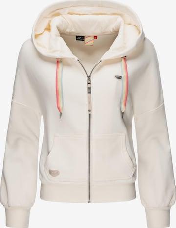Ragwear Sweatjacke in Weiß