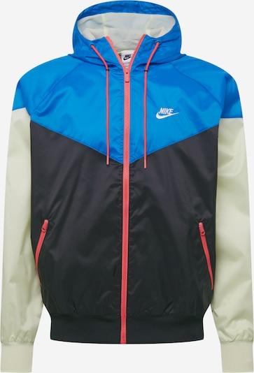 Nike Sportswear Athletic Jacket in Sky blue / Pastel green / Salmon / Black / White, Item view