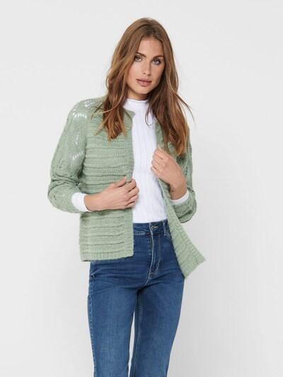 Geacă tricotată 'VANESSA' ONLY pe verde, Vizualizare model