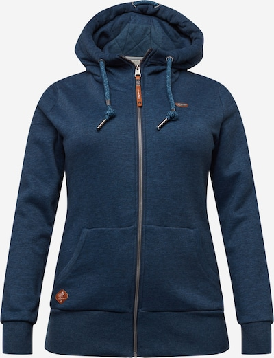 Ragwear Plus Sweatjacke 'NESKA' in navy, Produktansicht
