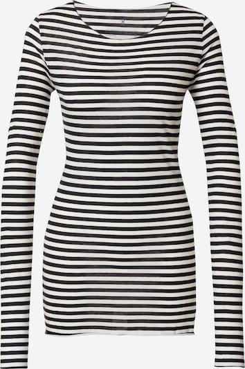 ARMEDANGELS Shirt 'EVVAA' in schwarz / weiß, Produktansicht