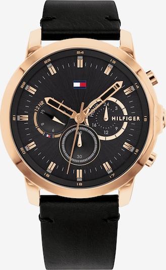 Analoginis (įprasto dizaino) laikrodis iš TOMMY HILFIGER , spalva - rožinio aukso spalva / juoda, Prekių apžvalga