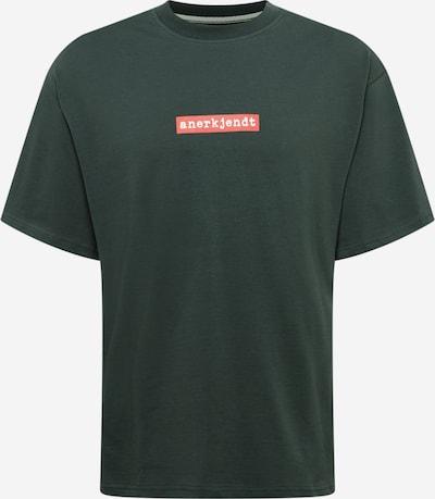 anerkjendt Shirt 'HOLGER' in Dark green / Melon / White, Item view