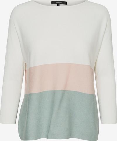 VERO MODA Pullover 'Nellie Glory' in opal / rosa / wollweiß, Produktansicht