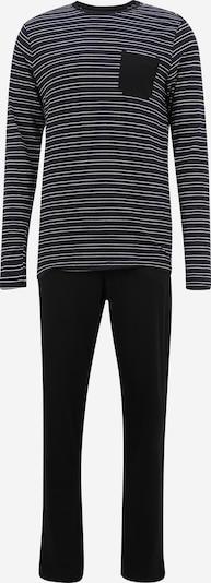 jbs Pyjama lang in de kleur Nachtblauw / Zwart / Wit, Productweergave