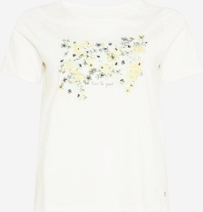 MY TRUE ME Shirt in gelb / grün / weiß, Produktansicht