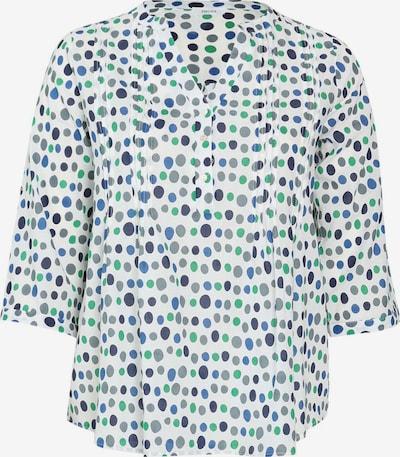 Paprika Bluse in blau / grün / weiß, Produktansicht