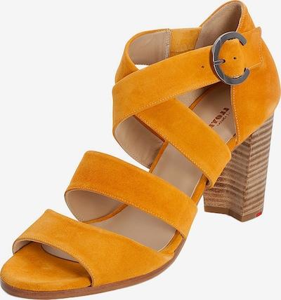 LLOYD Sandale mit Schnalle in gelb / orange / hellorange, Produktansicht