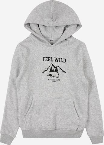 Mister Tee Sweatshirt 'Wild' in Grau