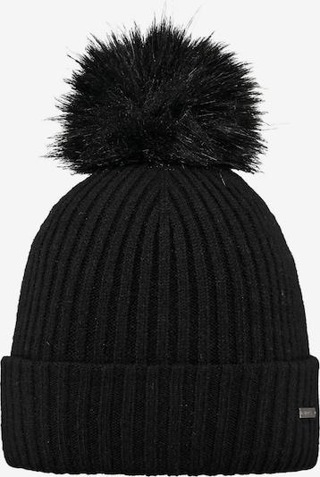 Barts Mütze in hellbraun / schwarz, Produktansicht