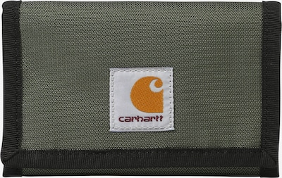 Carhartt WIP Kukkaro 'Delta' värissä khaki / musta: Näkymä edestä