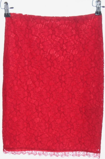MNG by Mango Spitzenrock in S in rot, Produktansicht
