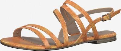 Sandale cu baretă TAMARIS pe galben șofran, Vizualizare produs