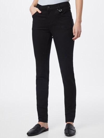 PULZ Jeans Jeans 'EMMA' in black denim, Modelansicht