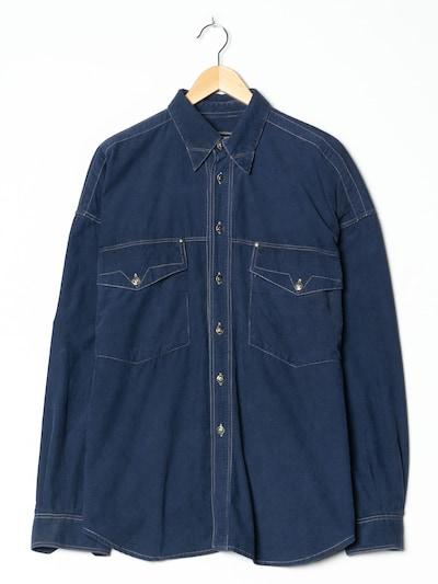 Versace Jeans Cordhemd in XXL in blau, Produktansicht