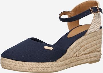 ESPRIT Sandale  'Vera' in Blau