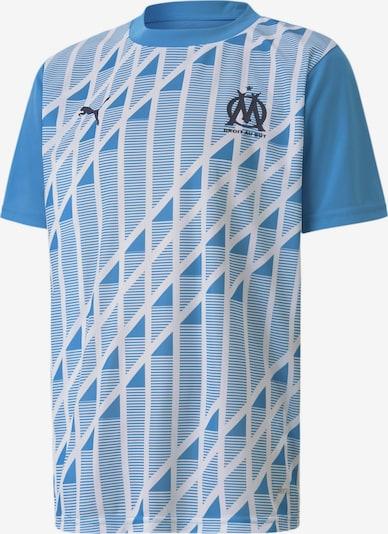PUMA Trikot 'Olympique de Marseille' in himmelblau / schwarz / weiß, Produktansicht