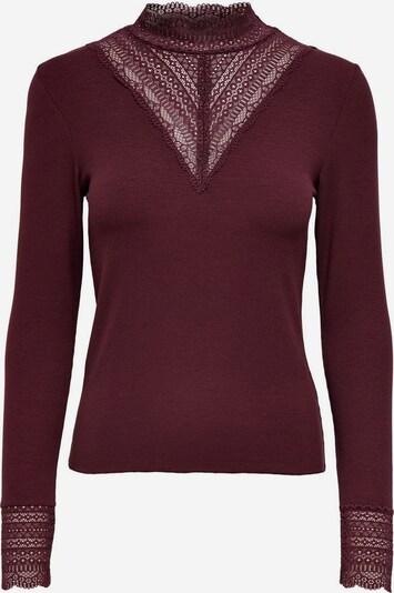 ONLY Shirt 'Tilde' in rostrot, Produktansicht