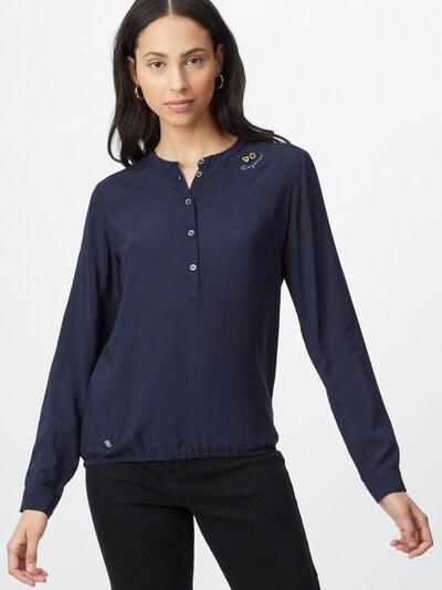 Ragwear Blouse 'RICOSSA' in de kleur Donkerblauw, Modelweergave