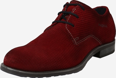 bugatti Обувки с връзки 'Lotus' в ръждиво червено, Преглед на продукта