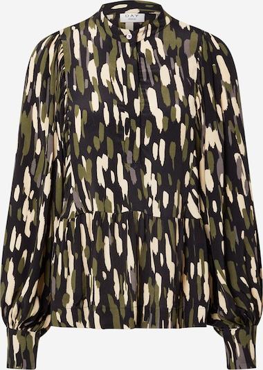 DAY BIRGER ET MIKKELSEN Blouse in Cream / Olive / Black, Item view