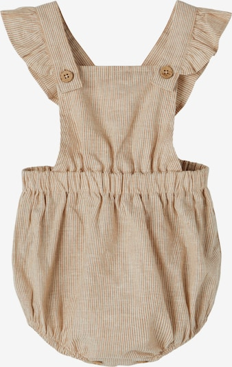 Lil ' Atelier Kids Overall 'Solva' in Light brown / White, Item view