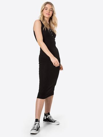 PIECES Dress 'Kitte' in Black