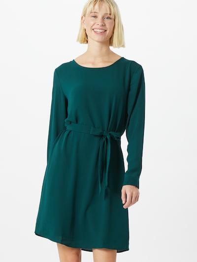 JACQUELINE de YONG Kleid 'Amanda' in dunkelgrün, Modelansicht