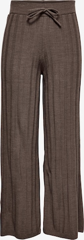 Pantalon 'Tessa' ONLY en marron