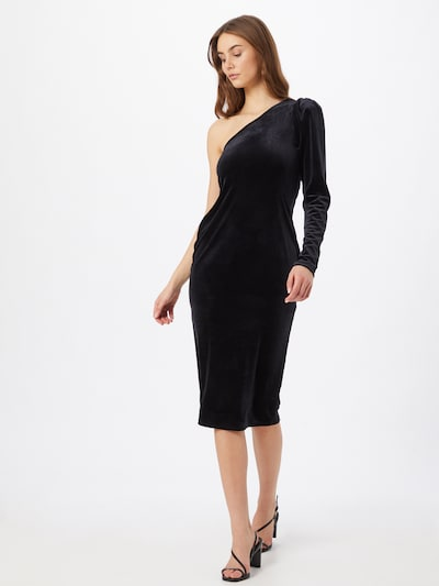 Gina Tricot Cocktailjurk in de kleur Zwart, Modelweergave