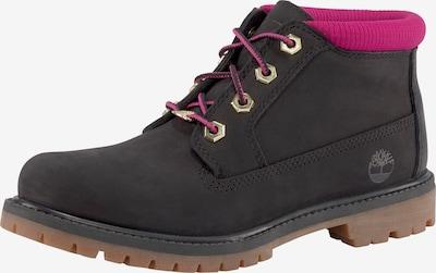 TIMBERLAND Schnürschuh in pink / schwarz, Produktansicht
