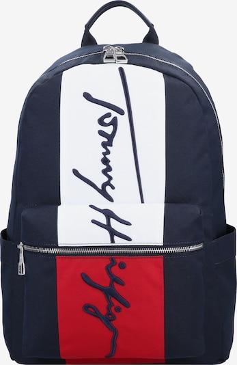 TOMMY HILFIGER Sac à dos en bleu nuit / rouge / blanc, Vue avec produit