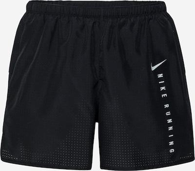 NIKE Spodnie sportowe w kolorze czarny / srebrnym, Podgląd produktu