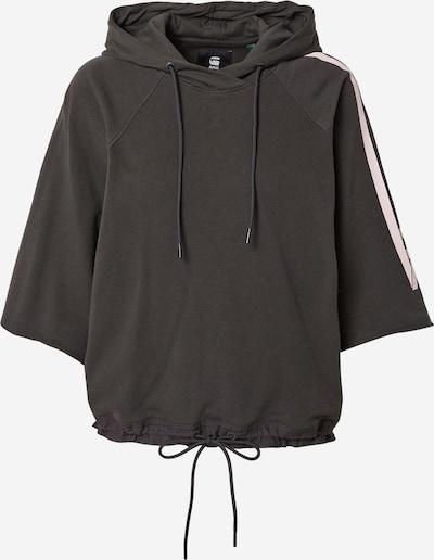 G-Star RAW Sweatshirt in anthrazit / pastellpink, Produktansicht