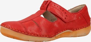 JOSEF SEIBEL Classic Flats 'Fergey' in Red