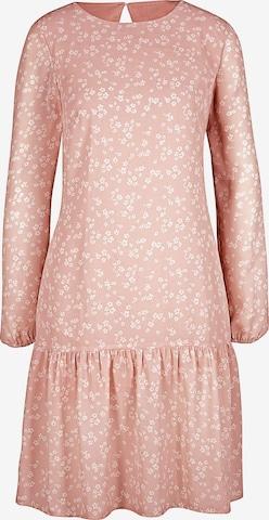 Rochie de la heine pe roz