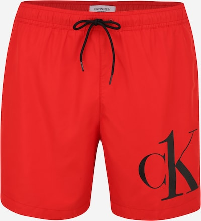 Calvin Klein Swimwear Plavecké šortky - světle červená / černá, Produkt