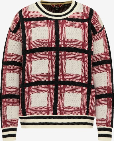 myMo ROCKS Sweater in Cream / Red / Black, Item view