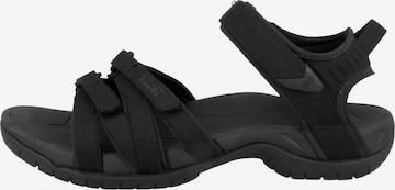 TEVA Sandale 'Tirra' in Schwarz
