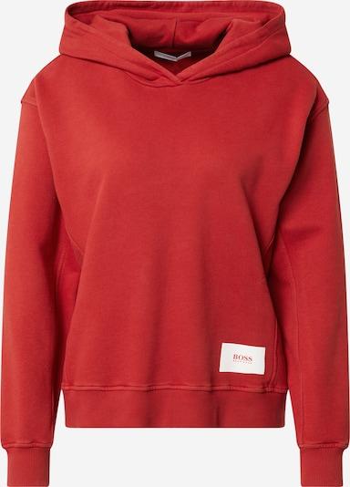 BOSS Casual Collegepaita 'Esqua1' värissä punainen: Näkymä edestä