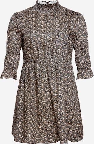 GLAMOROUS CURVE Kleid in Mischfarben