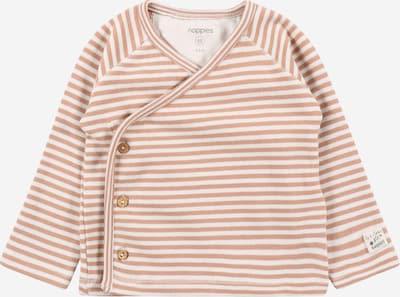 Noppies Shirt 'Ringsted' in braun / weiß, Produktansicht