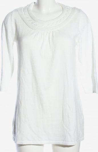 VIVIEN CARON Strickshirt in S in wollweiß, Produktansicht