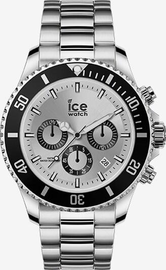 ICE WATCH Uhr in schwarz / silber, Produktansicht